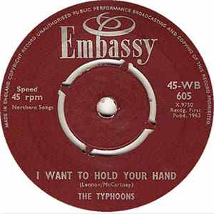 The Typhoons / Bud Ashton And His Group - I Want To Hold Your Hand / Geronimo herunterladen